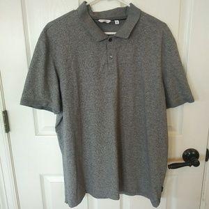 2/$30 Grey XL Calvin Klein Polo